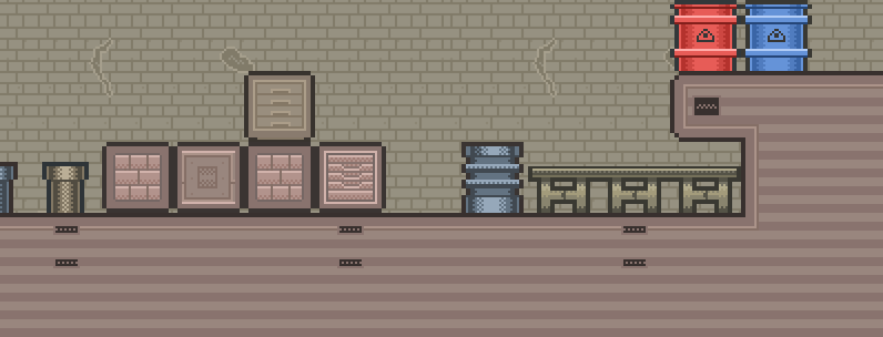 Tileset: Industrial Building