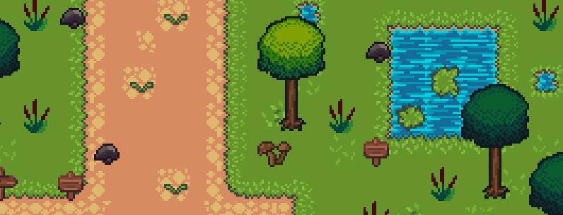 RPG Tileset: Grassland